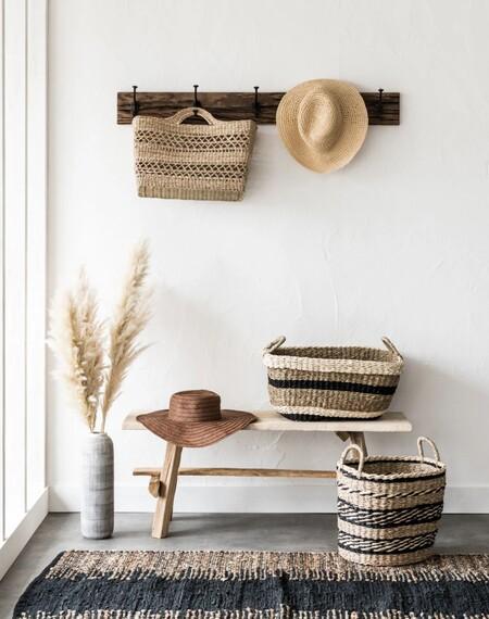 Maisons du Monde presenta unas cestas multiusos perfectas para llevarlas a la compra o a la playa