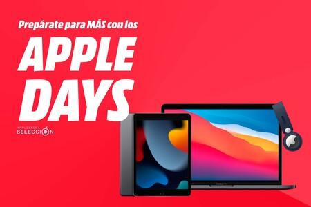 Apple Days en MediaMarkt: renueva tu iPhone, iPad, Mac o Apple Watch al 0% hasta en 24 meses (y más barato)