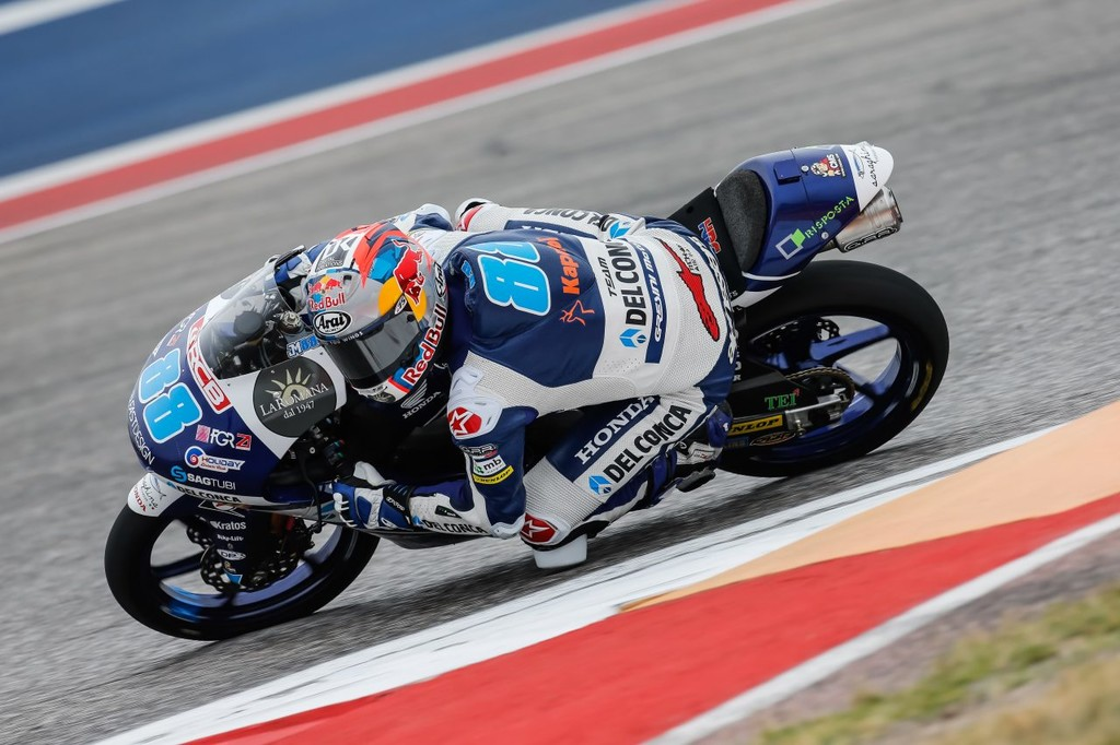 Jorge Martin Moto3 Gp Americas 2018