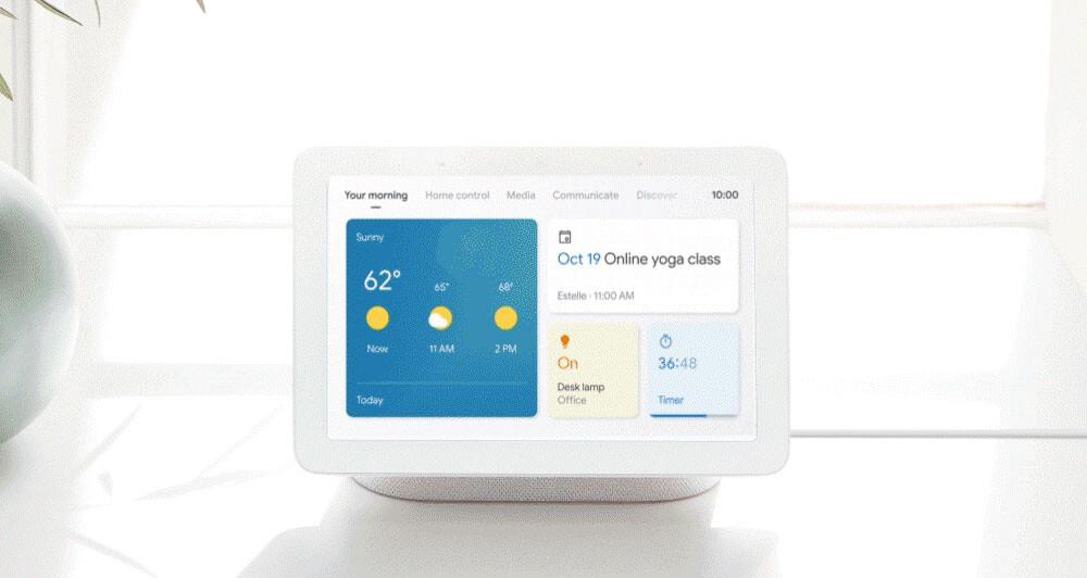 Google actualiza sus pantallas inteligentes: nueva interfaz, tema oscuro y más novedades