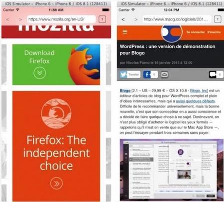 Firefox Navegador Ios