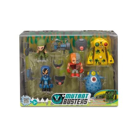 El set de batalla con 5 figuras Mutant Busters  ha sido rebajado un 45%. Ahora cuesta 13,69 euros en Amazon