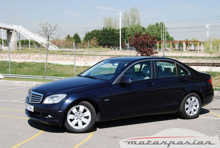 Mercedes-Benz C 200 CDI BlueEFFICIENCY, prueba (parte 3)