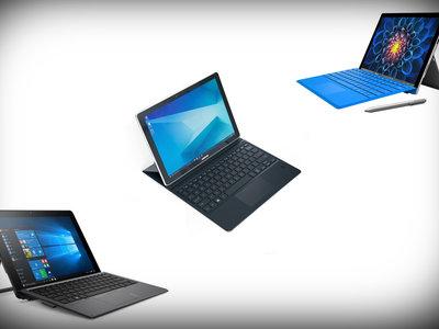 Surface Pro 4, HP Pro X2 y Samsung Galaxy Book enfrentadas en sus especificaciones