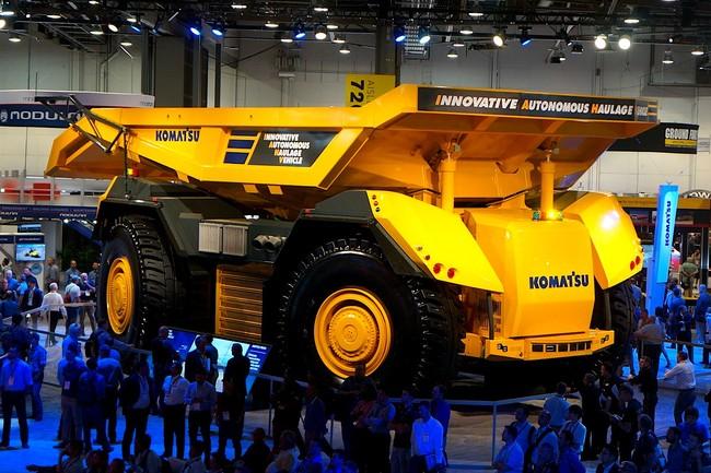 Komatsu Autonomous Haulage Vehicle