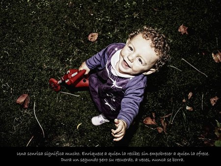 La foto de tu bebé: Iraia pintando sonrisas