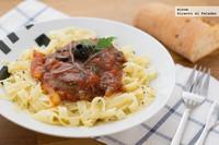 Receta de pasta a la siciliana