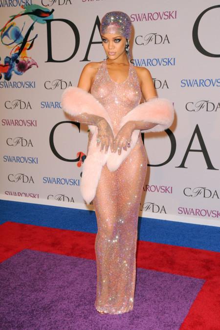 Rihanna CFDA Awards 2014
