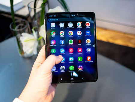 Samsung Galaxy Fold Abierto Apps
