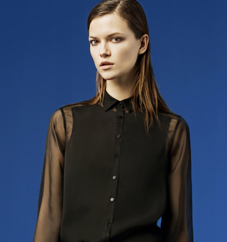 Zara transparencias lookbook febrero