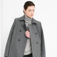 Un abrigo gris