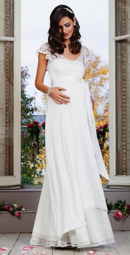 Vestidos De Novia Muy Favorecedores Para Embarazadas