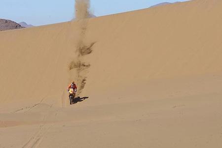 Jordi Villadoms, en las dunas chilenas