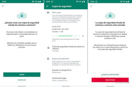 Whatsapp Copia Seguridad Cifrada