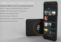 BlackBerry London, el teléfono que estrenará BlackBerry 10