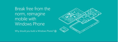 Toda la información que necesitas para construir teléfonos Windows Phone