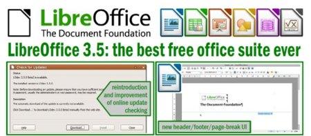 LibreOffice coge velocidad de crucero con la nueva versión 3.5