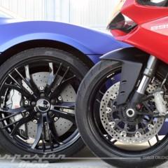 Foto 3 de 24 de la galería ducati-899-panigale-vs-audi-r8-v10-plus en Motorpasion Moto