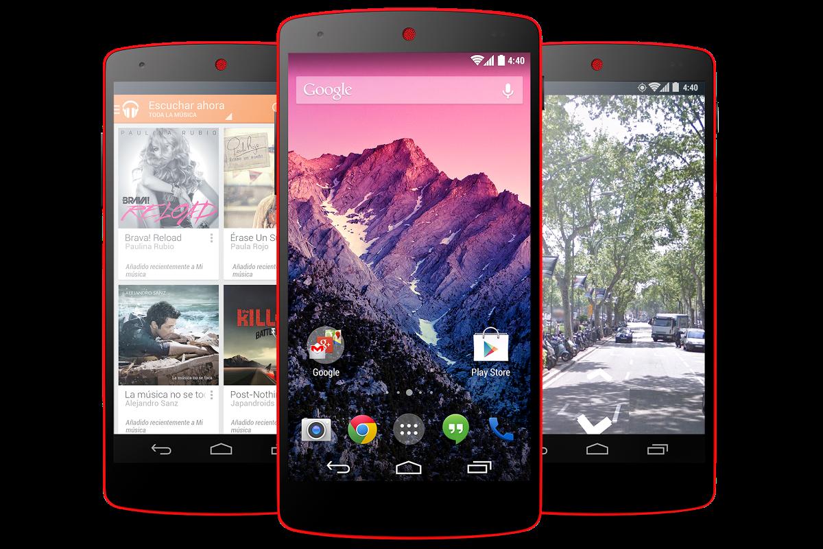 Foto de Nexus 5 - Rojo brillante (6/9)