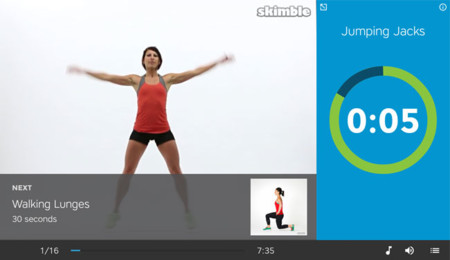 Workout Trainer para Android