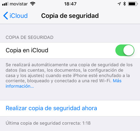 Iphone Copia De Seguridad