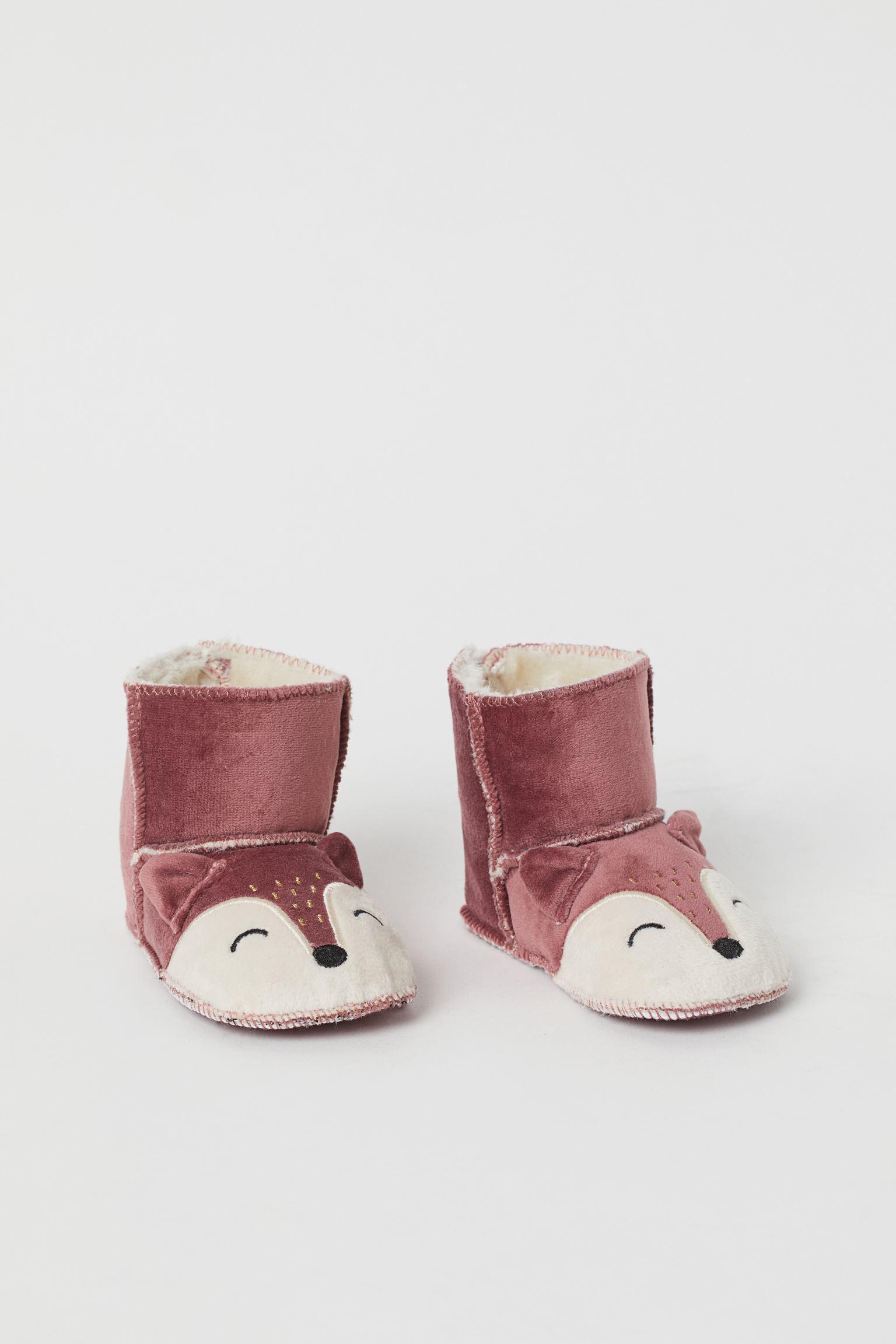 Zapatillas de casa con peluche
