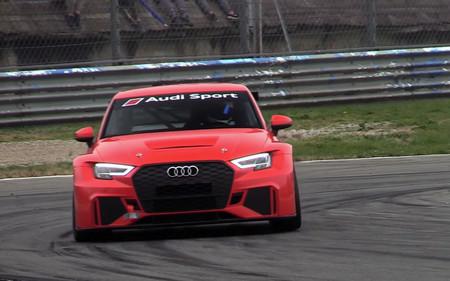Así suena en Monza el Audi RS 3 LMS de carreras, menos potente que el de calle