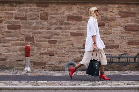 amazon find prendas shopping otoño botin rojo