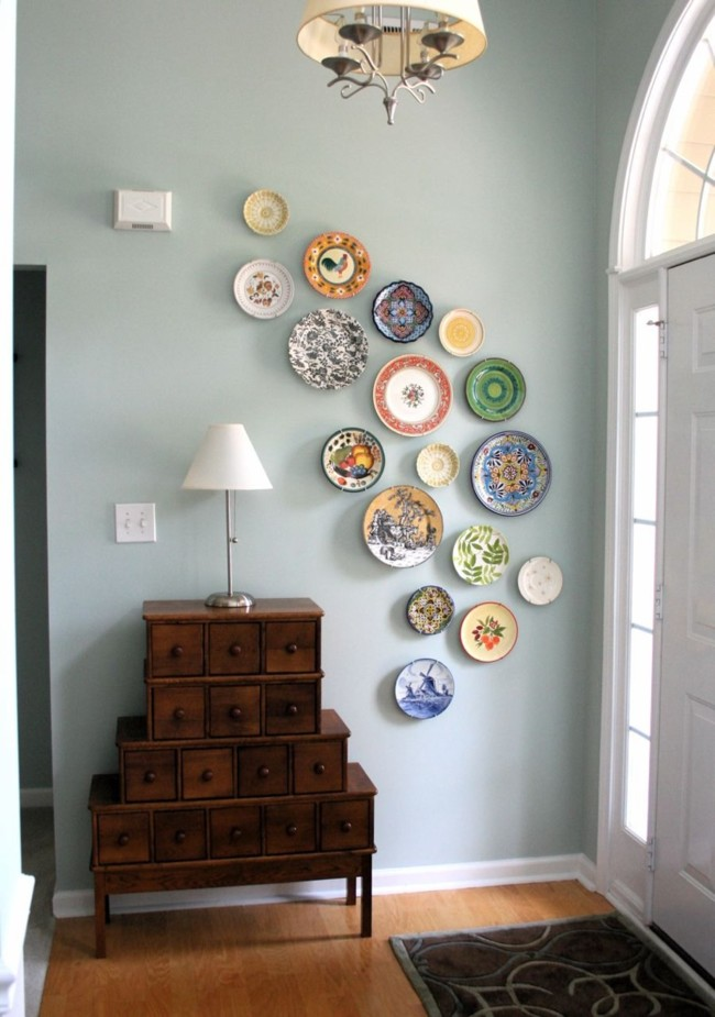 Diy Wall Art From Plates 2