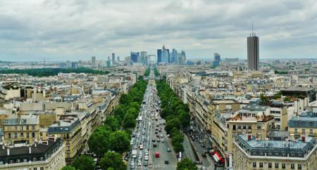 Paris atasco