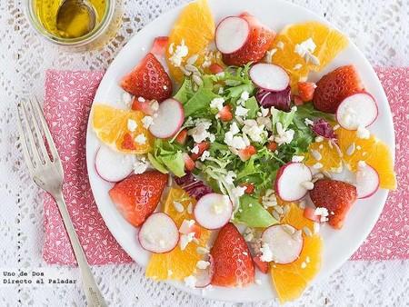 Naranja Fresas