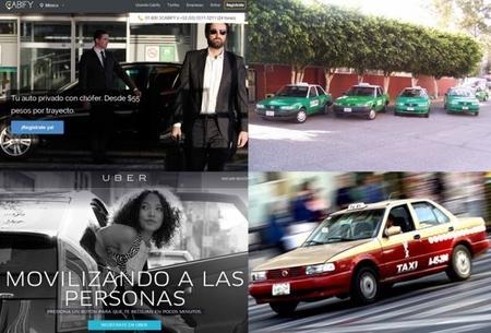 """Taxis tradicionales, """"nuevos taxis"""" y la tecnología"""