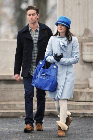 Leighton Meester azul