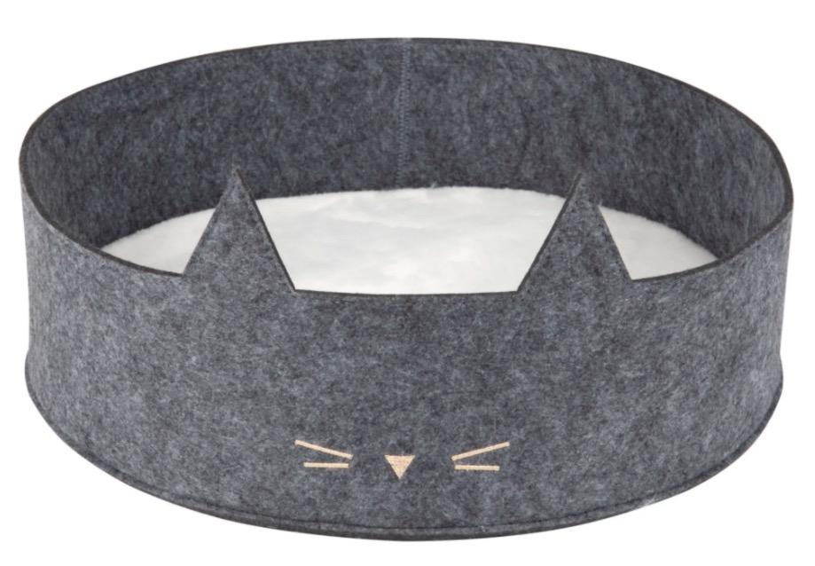 Cesta para gato bicolor D.40