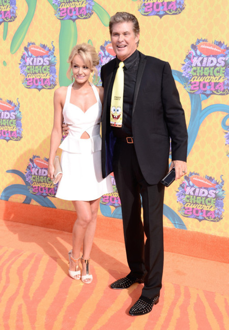 Hayley Roberts Kids Choice Awards 2014 peor vestidas