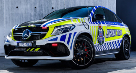 Mercedes Amg Gle 63 S Coupe Australia Police 0