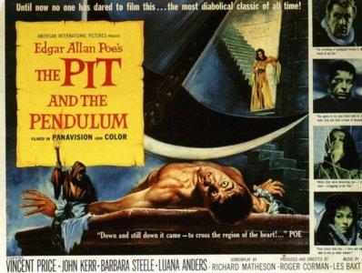 Roger Corman/Edgar Allan Poe: 'El péndulo de la muerte'