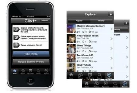 Clixtr, red social para compartir tus fotos a cada momento