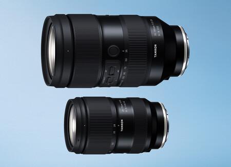 Tamron 35-150mm F/2-2.8 Di III VXD y 28-75mm F/2.8 Di III VXD G2, nuevos objetivos para mirrorless Sony de formato completo