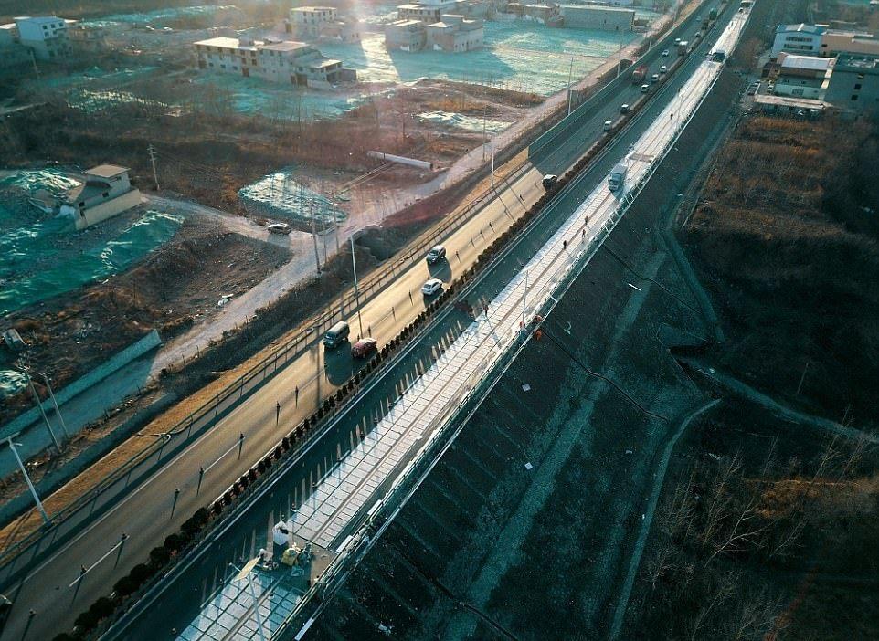 Carretera Solar China 6