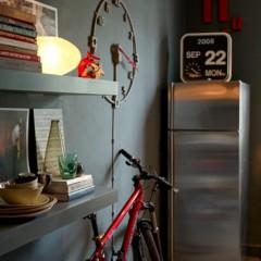 Foto 5 de 7 de la galería ideas-para-guardar-una-bicicleta-en-una-casa en Decoesfera