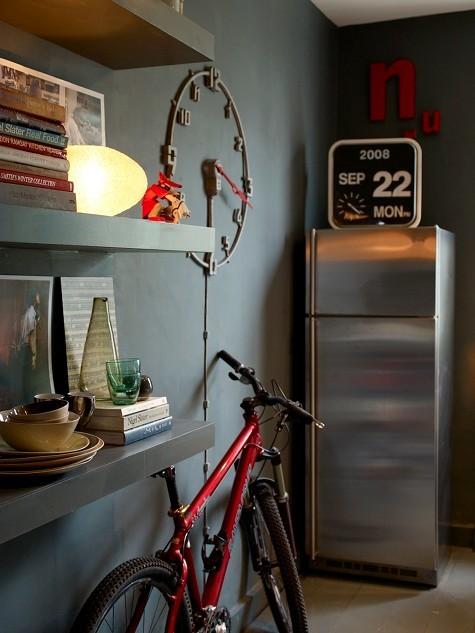 Foto de Ideas para guardar una bicicleta en una casa. (5/7)