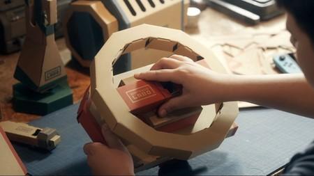 El Kit Vehículo de Nintendo Labo será compatible con Mario Kart 8 Deluxe. Así funcionará en un nuevo gameplay [GC 2018]