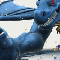 'Blue Dragon Plus' en movimiento