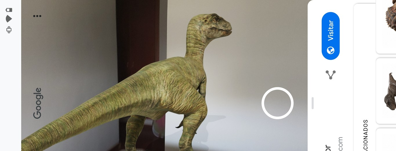 Como Usar Los Dinosaurios De Realidad Aumentada De Google En Tu Movil Listing 10,000+ pictures of dinosaurs, facts about them and other prehistoric animals, bringing them closer to kids, their parents and teachers. los dinosaurios de realidad aumentada