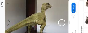 Cómo usar los dinosaurios de realidad aumentada de Google en tu móvil