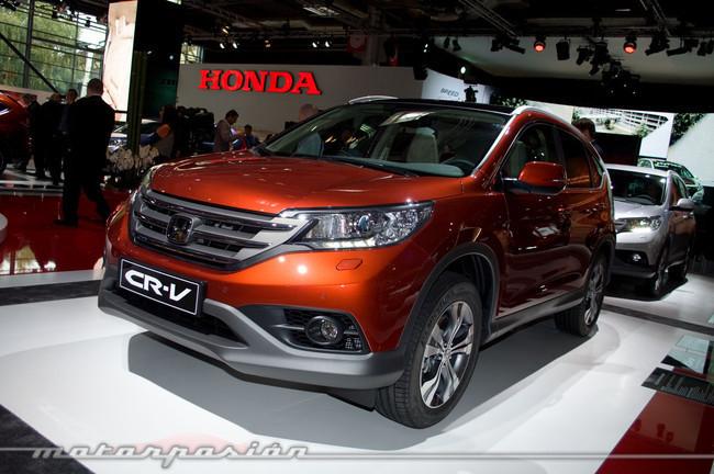 Honda CR-V en el Salón de París