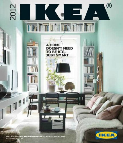 Catálogo Ikea 2012 ya disponible en Estados Unidos