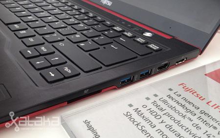 Fujitsu Lifebook U772 y UH572, toma de contacto con los primeros ultrabook de la compañía
