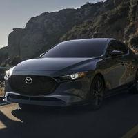El Mazda 3 Turbo podrá llevar un kit deportivo opcional y lo presume en estas fotos